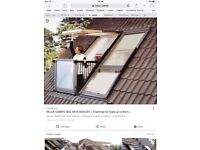 VELUX CABRIO BALCONY WINDOW 94 by 252 GRAB A STEAL