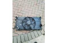 RADIATOR PACK/AIR CON RAD WITH FAN. FORD FOCUS