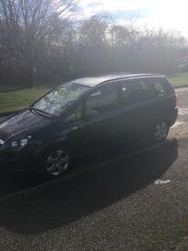 Vauxhall Zafira 1.6 07 Plate