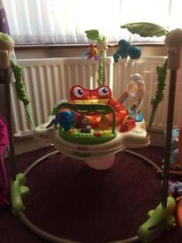 Fisher price Rainforest jumperoo in original box