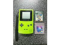 Nintendo Gameboy colour, & 2 games £40