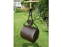 Lawn Roller. Victorian, Vintage, Garden feature..