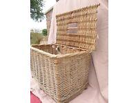 Wicker Basket - Picnic or Fishing basket