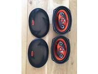 """Edge 6 x 9"""" speakers"""