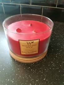 Luxury extra large scented candle