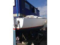J24 Westerly Sailing Yacht
