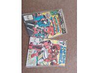comics 1981, 1988 marvel captain america