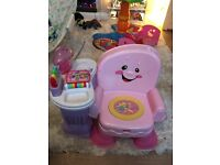 Fisher Price Song and Story Interactive Chair- £15