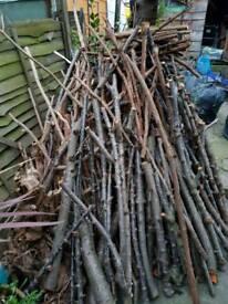 Fire wood/logs & cherry tree DYI wood from tree cuttings