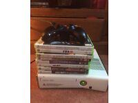 Limited edition white slim 250gb Xbox 360
