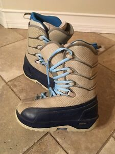 Ladies size 7 RIDE snowboard boots