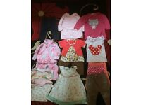 9-12 months baby girl bundle