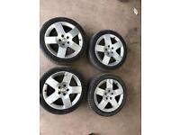 """VW Audi Alloy wheels alloys caddy T5 17"""""""