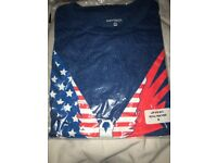 Logan Paul blue Stars and Stripes Maverick tshirt unopened