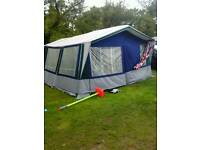 Suncamp holiday tent trailer