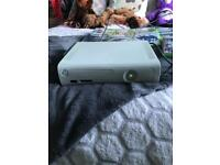 White Xbox 360 with games