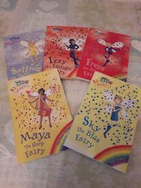 Rainbow magic books x 5