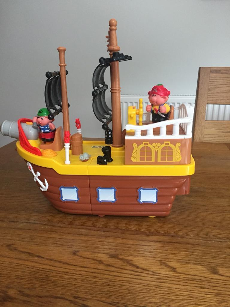 Fisher Price Grow and Play Pirate Ship