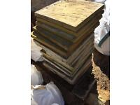 *FREE* Rubble / Old paving slabs - collection only.