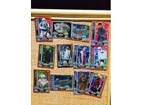 FORCE ATTAX 2015/2016 SHINY FOIL 37 CARDS