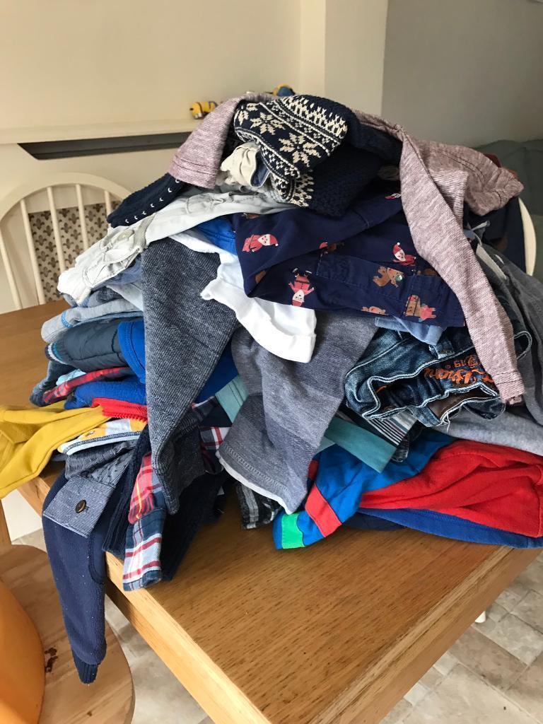 Boys 12 18 month bundlein Stapleford, NottinghamshireGumtree - Washed in non bio, from pet and smoke free home. Brands include, ted Baker, next, tu, george. 39 items in total. Collection from stapleford