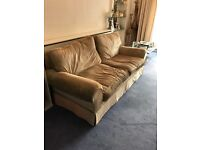 Very good condition large Laura Ashley sofa!