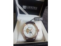 Brand new Automatic Rose Gold Watch Barkers of Kensington