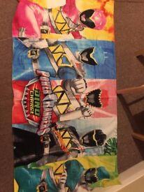 Power Rangers Towel