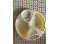 FREE Kiddicare yellow baby top n tail bowl