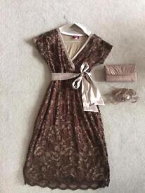 Tiffany Rose Maternity Party Dress