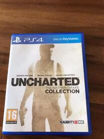 PS4 Uncharted Nathan Drake Collection