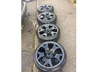 """Genuine BMW 19"""" tiger claws with tyres"""