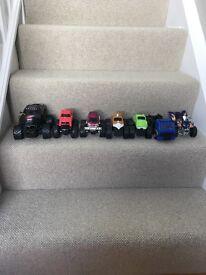 Monster trucks kids toys