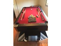 6ftx3ft pool table