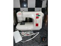 Janome CXL301 sewing machine - manual or hands free sewing