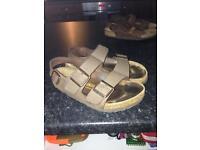 Birkenstock sandals size 38