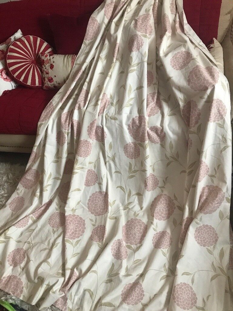Beautiful laura Ashley Large size Erin curtains plus extras