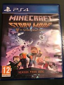 Minecraft Story Mode PS4 Game