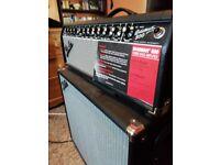Fender bassman 500 bass amp head with fender super champ SC112 1x12 cab
