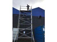 Massive 8.2m WH Euro alloy scaffold tower