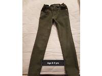 kids skinny jeans, 2 pairs