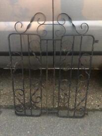 Ornate Wrought Iron Gate To Clear