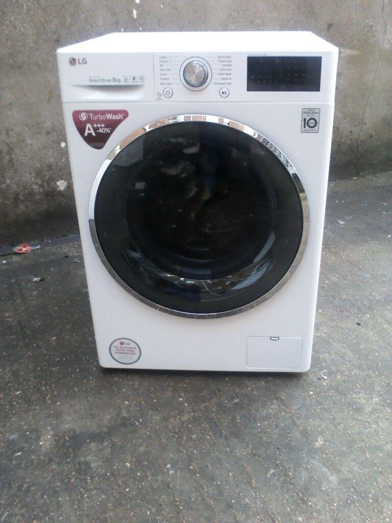 LG washing machine 8kg load as new .