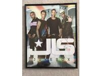 Signed JLS Picture in Frame