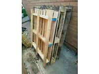 Wooden pallets ideal for allsorts