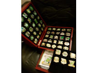celtic victory pins collection from danbury mint