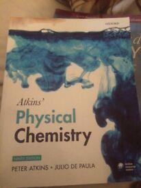 Atkins' Physical Chemistry Ninth Edition - Peter Atkins & Julio De Paula