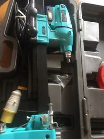 Diamond core drill drilling 110V 1350W rig stand & extra