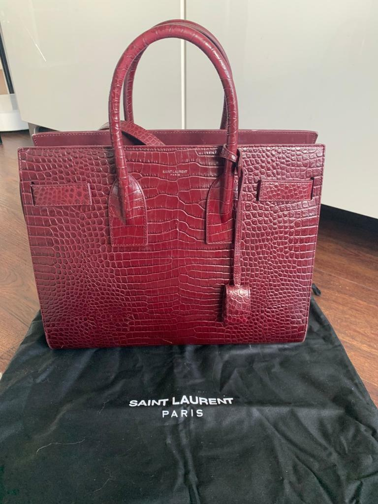 4ccce54d5 Saint Laurent sac de jour mock croc | in Maida Vale, London | Gumtree