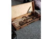 mixed old tools